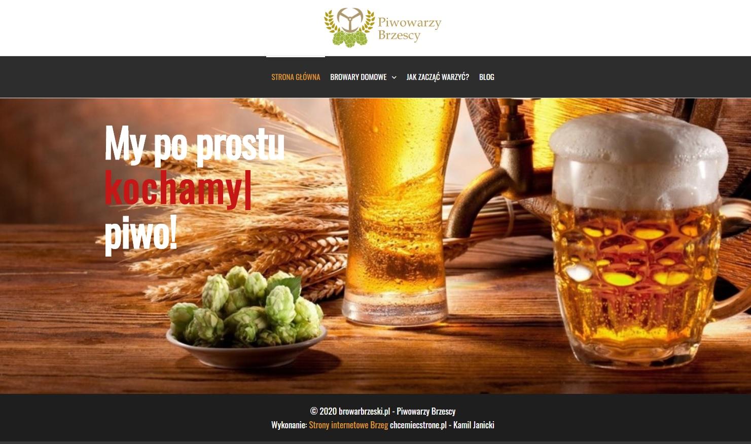 browar brzeski brzescy piwowarzy